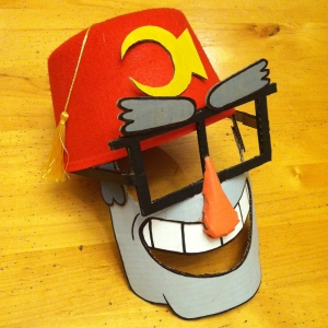 Grunkle Stan Mask