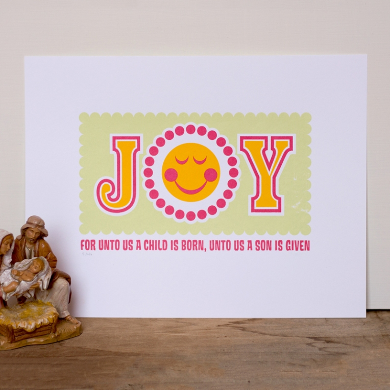JOY Screen Print