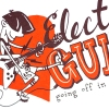 Electric Guitar Screen Print 2