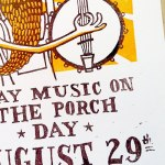 Play Music on the Porch Print Zoom2
