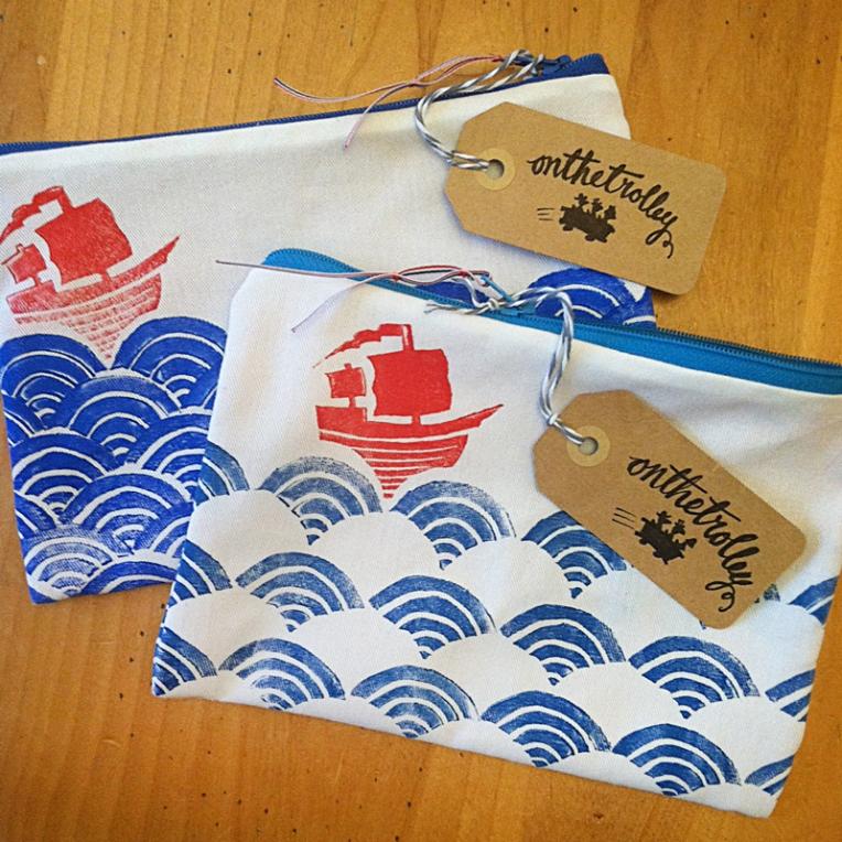 zipper bag - finished bags