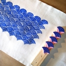 zipper bag - printing wave block