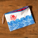 zipper bag - front side