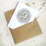 Nice Work A2 Card and envelope