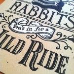 Two Rabbits Print - Zoom2