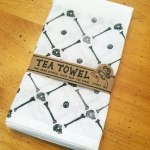 Skull and Bones Tea Towel