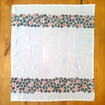Polkadot Skull Tea Towel - full
