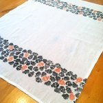 Polkadot Skull Tea Towel - full2