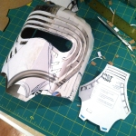 Kylo Ren Mask Build 3