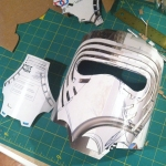 Kylo Ren Mask Build 4