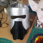 Kylo Ren Mask Build 6