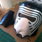 Kylo Ren Mask Build 7