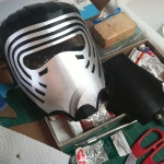 Kylo Ren Mask Build 8