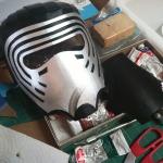 Kylo Ren Mask Build 8