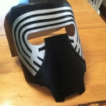 Kylo Ren Mask Build 9