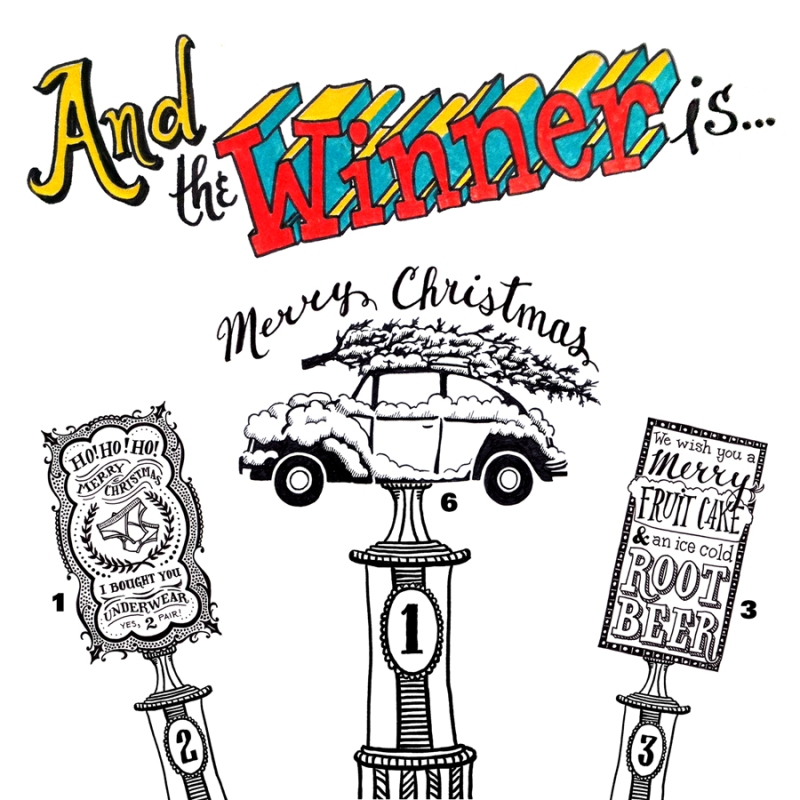Winning Christmas Card Designs
