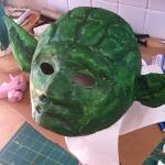 Yoda Mask Build 8