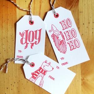 Christmas Tags - 2