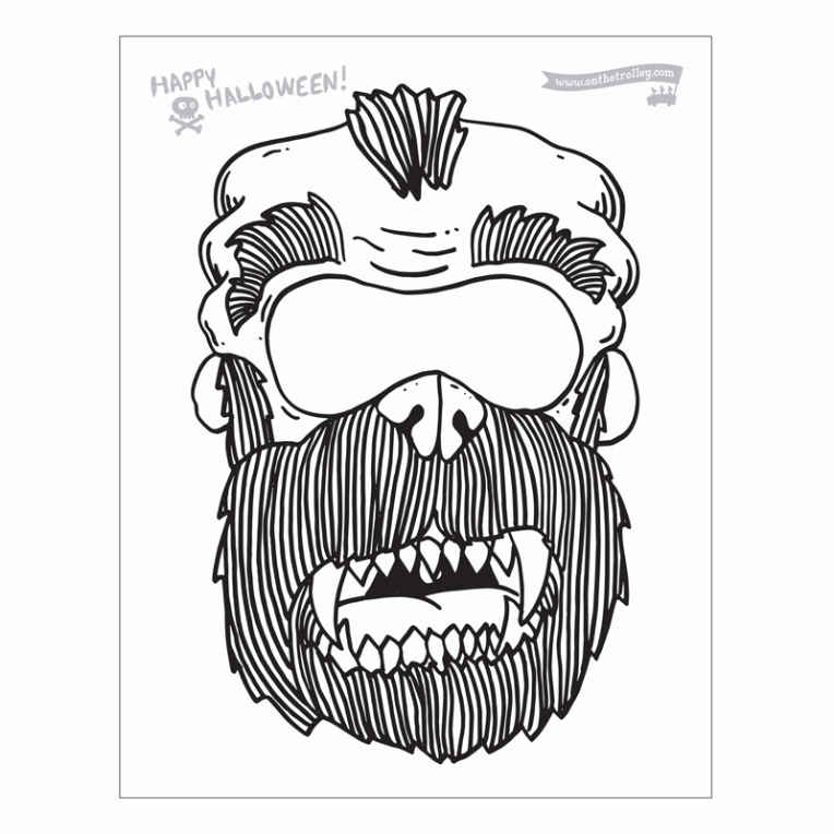 masks 2017 Beastman