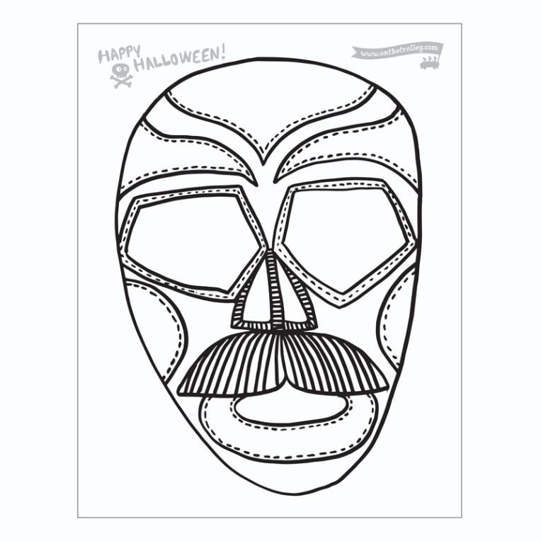 masks 2017 El Guapo